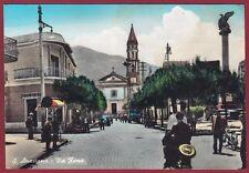 NAPOLI SANT'ANASTASIA 01 Cartolina FOTOGRAFICA viaggiata 1962