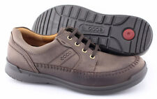 Men's ECCO 'Howell' Dark Brown Leather Oxfords Size US 8 EUR 42