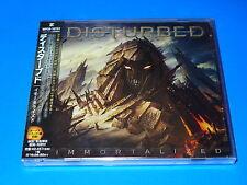 2015 JAPAN DISTURBED IMMORTALIZED CD 3 BONUS TRACKS FOR JAPAN