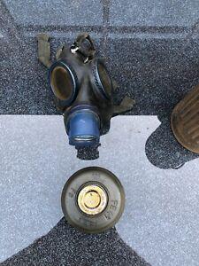 WK2 Wehrmacht Gasmaske mit Behälter BMW