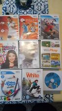 Wii Bundle:  Active 1,2 , Wii Play , Pirates of the Caribbean, icarly and more