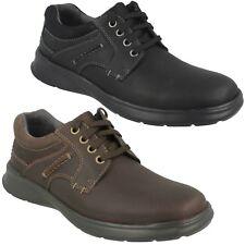 Clarks hombre cuero de grano Casual Con Cordones cotidiano Zapatos Talla cotrell