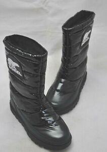 SOREL Women's Black Waterproof Hiking Style Boots Size 5