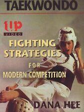 Taekwondo Fighting Strategies Modern Competition Sparring Dvd Dana Hee karate