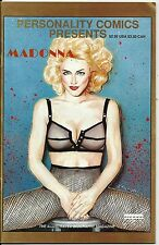 MADONNA PERSONALITY COMICS PRESENTS # 2 OCTOBER 1991 MAGAZINE NICE SHAPE