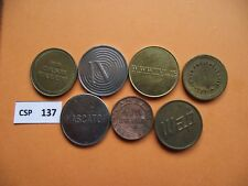 LOT OF 7 TOKENS #CSP137