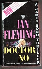 SIGNET 2036 IAN FLEMING JAMES BOND 007 DOCTOR NO VG+ MTI BARYE COVER ART!