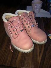 Women's Pink Timberland Boots UK Size 7 W