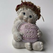 "Vintage Dreamsicles Love Notes ""Babies are Precious"" Signed #10683 Kristin '99"