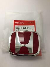 GENUINE HONDA CIVIC TYPE R FRONT GRILLE EMBLE / BADGE 2001-2003
