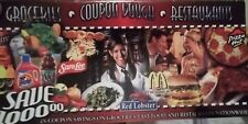 Restaurant coupon booklet