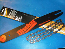 "NEW DISSTON 16"" BAR & CHAIN FITS STIHL 009 010 011 020 E10 SAWS A56E FREE SHIP"