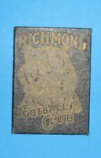RICHMOND FOOTBALL CLUB 1955 TICKET SCARCE