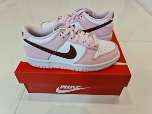 Nike Dunk Low Pink Foam Red White (GS) UK 3 US 3.5Y Brand New