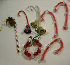 8 Miscellaneous Crafted Christmas Ornaments