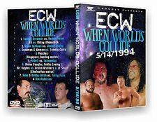 ECW Wrestling: When Worlds Collide DVD-r, Sabu Bobby EatonTerry Funk Tazmaniac