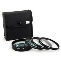 Jackar 55mm Close-Up Filter Set (+1,2,4,10) For Canon EF-M 11–22mm f/4–5.6 Lens