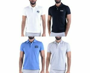 Herren Polohemd Klassisch Golf T-Shirt Baumwolle Abercrombie & Fitch Muskel