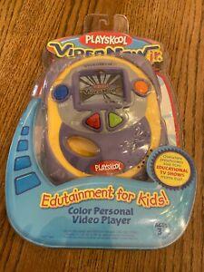 Playskook Video Now Jr 2004 Viacom Hasbro Yellow Personal Video Player - New
