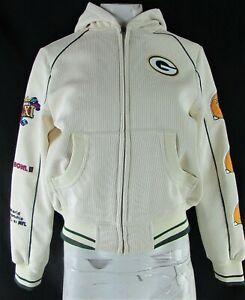 Green Bay Packers NFL Super Bowl Women's Corduroy Jacket
