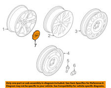 FORD OEM 06-11 Explorer Wheel-Center Cap Hub Cover BB5Z1130B
