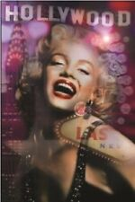 MARILYN MONROE ~ HOLLYWOOD TO VEGAS ~ 24x36 PINUP POSTER ~ NEW/ROLLED!