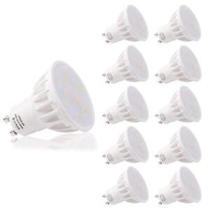 LOHAS GU10 LED Bulbs Day/Warm White Bright 6W Spot Light Cool 50W replacement