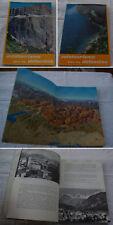 guide touristique AUTOTOURISME DANS LES DOLOMITES 1962 Italie