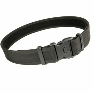Protec 50mm Black Police Prison and Security Nylon Duty Belt