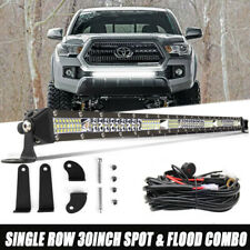 """30"""" LED Light Bar w/Wiring For 2005-2018 Toyota Tacoma Front Grille Bumper Mount"""