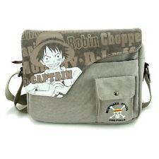 Anime One Piece Monkey D.Luffy Canvas Messenger Bag Shoulder Bag Satchel