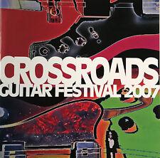ERIC CLAPTON 2007 CROSSROADS GUITAR FESTIVAL PROGRAM