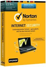 Norton Internet Security / 3 PC's / 1 Year - latest 22.9.3v of 2017