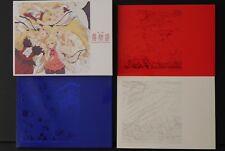 "JAPAN Nisio Isin (Monogatari Series) Movie ""Kizu Monogatari"" Complete Guide Book"