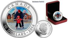 2014 Silver Learning to Skate - SKATING IN CANADA Coin    SALE 10%