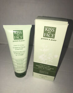 Kiss My Face NEW Clean for a Day Creamy Face Cleanser Normal to Dry Vegan 4 oz