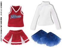 Set Cheerleader de Azone Pureneemo PNS Rojo 1/6 Obitsu Blythe Dal