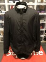 Kenneth Cole Reaction Mens Size XL Windbreaker Waterproof Jacket Black RN54163