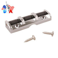 Electric Guitar Roller Nut Soild Body Pro Quality 43MM Silver Adjustable Nut US