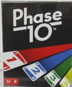 Mattel Phase 10 Kartenspiel Mattel FPW38 Neuaufl. Neu in OVP