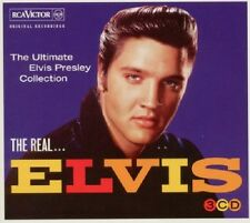 Elvis Presley The Real Elvis 3-CD NEW SEALED Jailhouse Rock/Fever/Hound Dog+