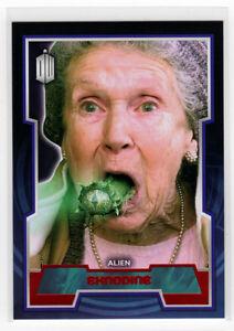 Topps Doctor Who 2015 Red Foil Parallel Base Card #63 Eknodine - 45/50