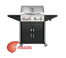 BARBECUE BBQ A GAS 119X139X56 4 BRUCIATORI + FORNELLO AUSTRALIA 455G OUTDOORCHEF