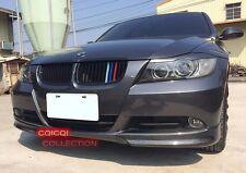 Carbon Fiber BMW 05~08 E90 3-series sedan OEM type front splitter 2pcs @US