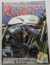Motorcycle Classics Magazine Harley Goldenballs BSA/Triumph July 1997 012615R