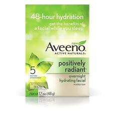 Aveeno Active Naturals Positively Radiant Overnight Hydrating Facial Moisturizer