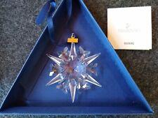 Swarovski Annual Crystal Ornament 2002 In Box No Insert
