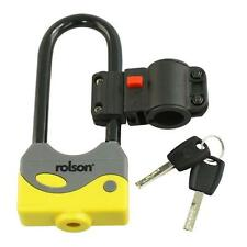 Rolson 66746 LOCK HEAVYDUTY 80 x 200 mm CICLO BICI BICICLETTA SICUREZZA