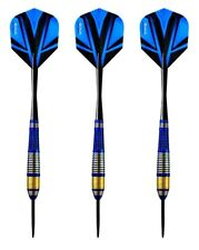 Harrows Vivid High Grade Tinted Alloy Steel Tip Darts – 21 Grams - Blue