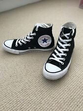 Converse Black Big Logo Alto Top Chuck Taylor-Size UK 5.5 (EUR 38)